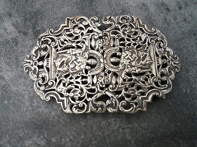 Nurses Silver Plated Buckle