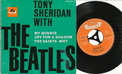 Tony Sheridan with The Beatles EP deutsche Polydor 21610 My Bonnie + 3 greatest