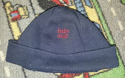 BABY BOYS Sz 0000 - 000 Blue & Red TARGET Beenie CUTE!