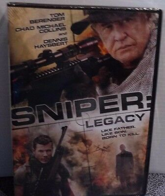 Sniper Legacy With Tom Berenger And Dennis Haysbert  Widescreen DVD New Sealed