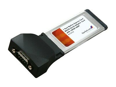StarTech  EC1S952  1 Port Native ExpressCard RS232 Serial Adapter Card with 1695