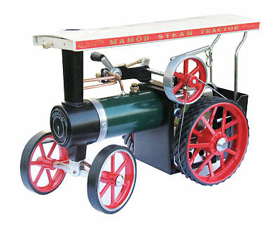 1313 Mamod Live Steam Traction Engine TE1A - Brand New In Box & with TYRES!