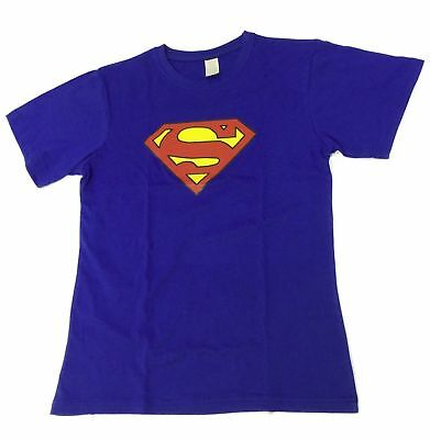 Men Adult Super Man DC Comic Classic T-shirt Short Sleeve Top Tee