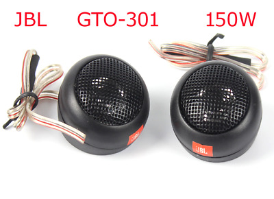 1 pair tweeter treble subwoofer car audio speaker 150W 1.5 inch for JBL GTO-301