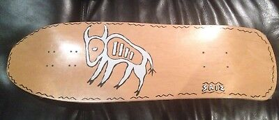 Vintage Rare Natty NOS OG Steve Saiz Buffalo Full Size In Shrink Skateboard Deck