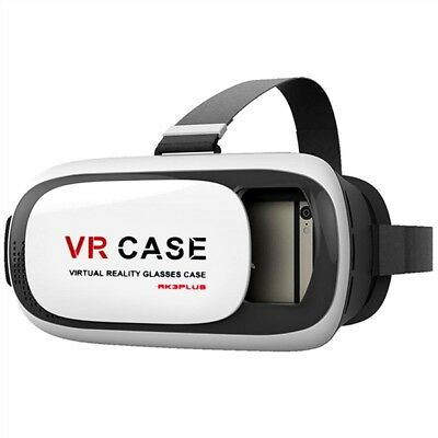 Vr Case 3 Virtual Reality 3D Glasses W/ Bluetooth Remote Controller