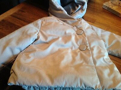 Zara Baby Girl Outerwear Hooded Jacket Size 9 - 12 months