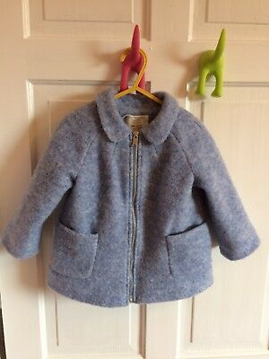 Girls Zara Coat 18-24 Months