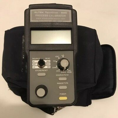 Altek TechChek 820 process calibrator multifunction w/ leads (FREE SHIPPING)