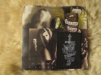 "Balaam and the Angel I took a Little 7"" 45rpm ltd ed c/w cloth patch sealed goth"