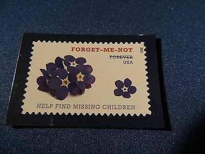 USPS Promo Forever Stamp Magnet Forget Me Not Missing Children 2015 Series USA