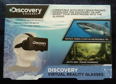 DISCOVERY CHANNEL Virtual Reality Glasses -VR PLATFORM 3D GLASSES 5055964703486