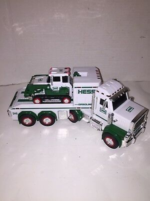 2013 HESS Truck and Tractor Toy Free Shipping