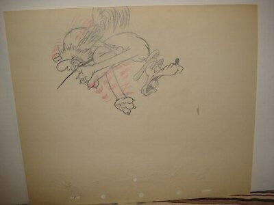 Disney Production Drawing Mother Pluto 1936
