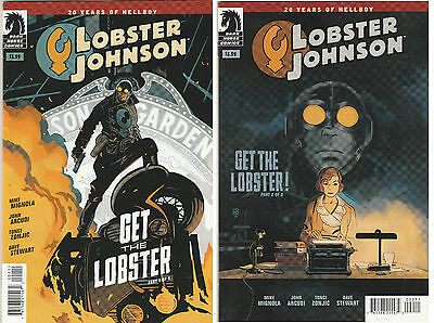 Lobster Johnson #1 & 2 (2014 Dark Horse Comics) Hellboy Spinoff Series