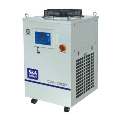 AC 1P 220V CW-6300BN Industrial Water Chiller Cooling a Single 300W YAG laser