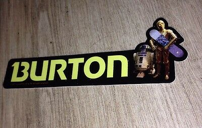 Star Wars/Burton, Rare Snowboard Sticker!
