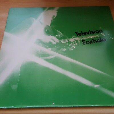 "Television ‎– Foxhole 12"" UK RED edition"