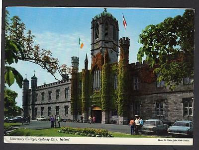 """UNIVERSITY COLLEGE, GALWAY CITY"" Postcard Ireland Galway"
