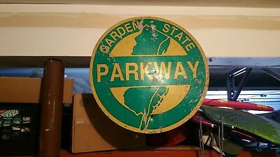 Nj Garden State Parkway Retired Sign