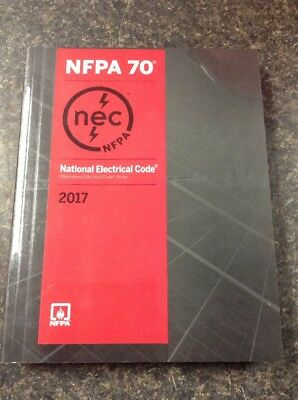 NFPA 70 2017 Edition National Electrical Code Paperback NEC (41197-1)