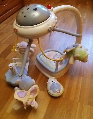 Mobile Traumbärchen fisher price (Musik/Licht)