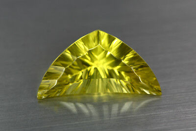 9.150Ct Unique Awesome Attractive 100% Natural Bright Lemon Yellow Prasiolite