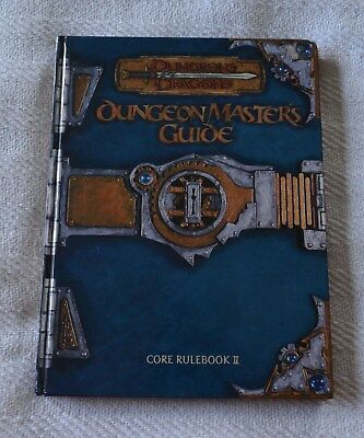Dungeons & Dragons Dungeon Master's Guide Core Rulebook II - First Printing 2000