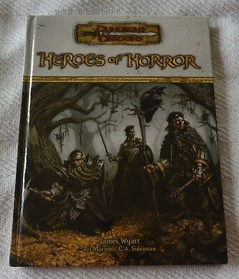 Dungeons & Dragons Heroes Of Horror - First Printing 2005 HC
