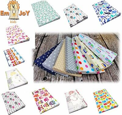 PILLOWCASE REPLACEMENT COVER FOR WEDGE PILLOW BABY CRIB CRADLE COT 30x37cm 60X37