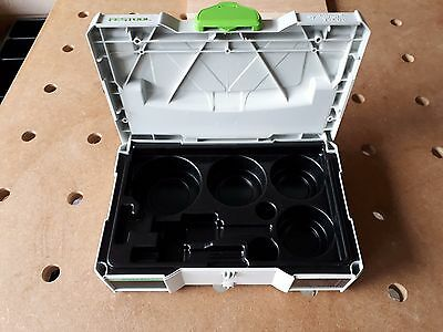 Very Unusual Tanos Festool Mini Systainer Insert for Hole Saws