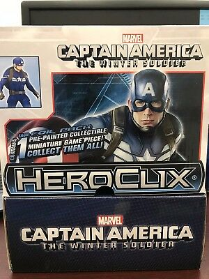 Marvel Heroclix Captain America - The Winter Soldier Gravity Feed Box