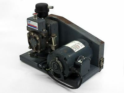Welch 1400 DuoSeal Vacuum Pump Dual Stage Belt-Drive 115 Volt-AC - USED