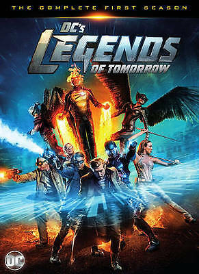 DCs Legends of Tomorrow: The Complete First Season (DVD, 2016, 4-Disc Set) NEW