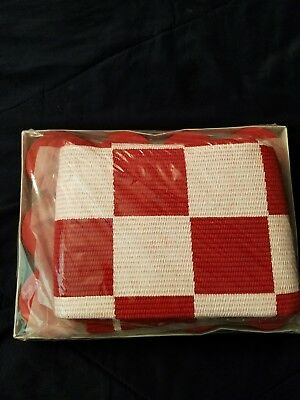 Large Coca Cola checker board set new
