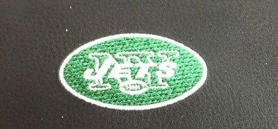 NFL NY Jets Black Leather Checkbook Officially Licensed Embroidered