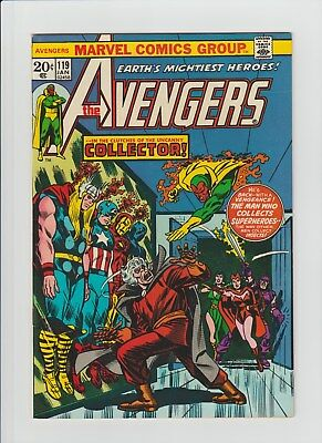 The Avengers #119 (Jan 1974, Marvel) NM- (9.2) The Collector App.!!!!