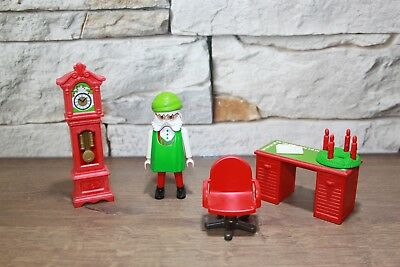 playmobil weihnachten weihnachtsmann mit engel und. Black Bedroom Furniture Sets. Home Design Ideas