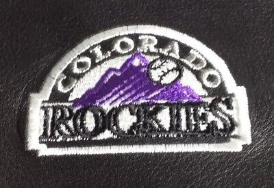 Colorado Rockies Black Leather Checkbook Officially Licensed Embroidered New