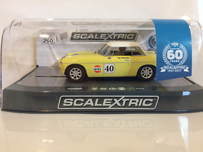 Scalextric C3746A Special Edition MGB Thoroughbred Sports Car Series