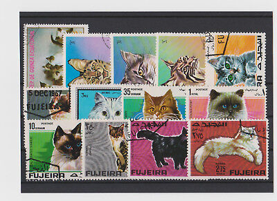 Briefmarken Lot -Katzen-