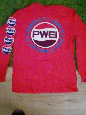 PWEI Long Sleeve Tour Top From The 90's