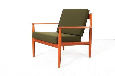 Easy Chair  GRETE JALK  France & Son Modell 118 Sessel Teak 1950s 50er
