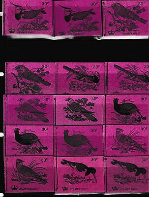GB 1971 DQ58-72 British Birds series - MNH