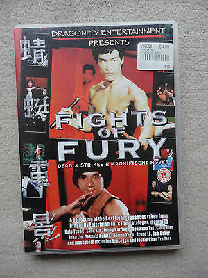 Fights Of Fury (DVD, 2004)