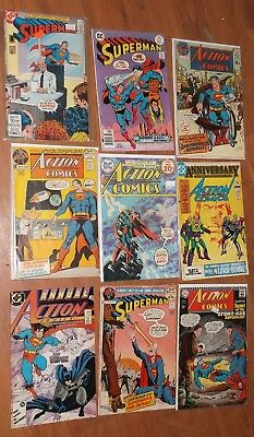 Great Old Action Comics, Superman,  Comic Book Lot!