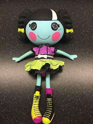 Lalaloopsy Doll - Scraps Stitched N Sewn 2010 - Haloween/Zombie doll