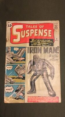 Tales Of Suspense 39  Iron Man's 1st Appearance