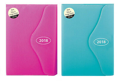 2018 A5 A6 Executive Diary Day A Page Monthly Indexed Appointment Organiser