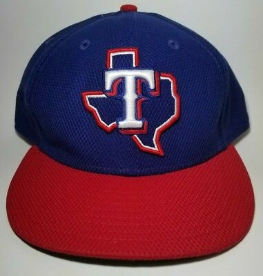 new photos a2464 f088d MLB Texas Rangers New Era Game Diamond Era 59FIFTY Fitted 7 3 4 Hat -